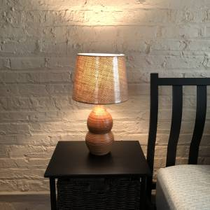 Rustic Handcrafted Lamp
